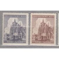 Германия Рейх религия архитектура Протекторат Богемия и Моравия  600-летие собора Святого Вита - Прага серия 1944 год