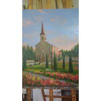 Костел в Ганцевичах