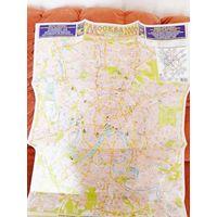 Карта туристическая Москва 2006