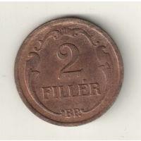 Венгрия 2 филлер 1937