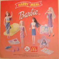 Макдональдс Вкладыш к серии Барби