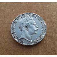 Германия (империя), 3 марки 1910 г., серебро, Вильгельм II (1888-1918)