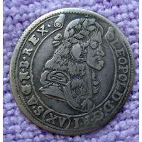 15 крейцеров 1684 год. Леопольд (губатый).