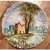 Тарелка Декоративная коллекционная Франция начало 20в