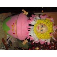 Игрушка декор кукла