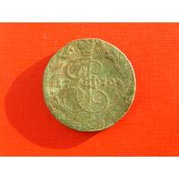 5 копеек 1770г. Е.М.