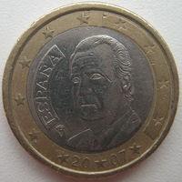 Испания 1 евро 2007 г.