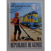 Гвинея.железная дорога