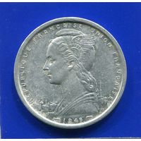 Французская Западная Африка 2 франка 1948