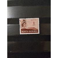 Английская колония Северное Борнео королева (4-6)