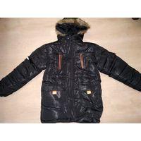 Новая зимняя куртка для мальчика на рост 146-152