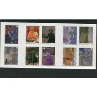 Бельгия. Тео ван Рейссельберг - бельгийский художник пуантилист (1862-1926). Буклет