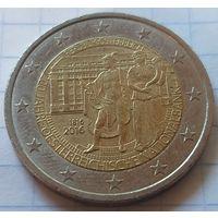 Австрия 2 евро, 2016 200 лет Национальному банку    ( 3-9-3 )