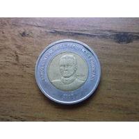 Доминиканская республика 10 песо 2007