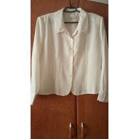 Блузка классическая новая 50 размер