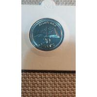 Питкерн остров 20 центов 2009