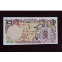 Иран 100 риалов 1982 UNC