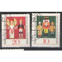 ГДР-1967. Народное искусство Рудных гор одежда