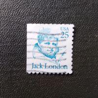 Марка США 1986-1991 год  Джек Лондон