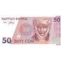 Киргизия 50 сом 1994 (UNC)