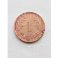 Финляндия 1 марка 1942