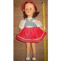 Кукла ссср паричковая красная шапочка руки на резинках