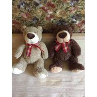Пара мягких игрушек медведь