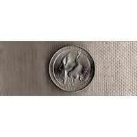 США 25 центов 2013/парки/Маунт Рашмор Южная Дакота(Ab)