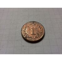Зимбабве 1 цент 1997 год.