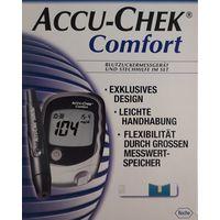 Глюкометр Accu-Chek Comfort для измерения сахара в крови + тест-полоски Германия новый
