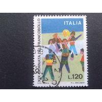 Италия 1977 день марки