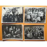 """Фото """"Сельские мотивы"""", Лидский р-н, 1940-1950-е гг., 4 шт."""