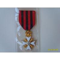 Бельгия.Гражданский Знак отличия за Долговременную Административную Службу. Крест 1-й степени