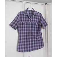 В подарок к купленной одежде Рубашка в клетку .Р-р 48-50
