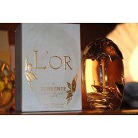"""Теперь уже очень редкая и незабвенная парфюмерия: """"L`Or de Torrente"""" 50 ml., """"L`Or Blanc de Torrente"""" 30 ml., """"L`Or de Torrente Rouge"""" 50 ml. и """"Torrente My Torrente"""" 75 ml. w EDP; - *Eсли брать вмест"""