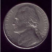5 центов 1999 год Р США