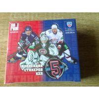 Запечатанный блок наклеек SeReal КХЛ 2012-13 года.