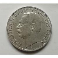 Германия 3 марки 1912г Баден