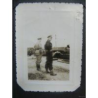 Фото офицера-танкиста Вермахта