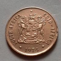 2 цента, ЮАР 1974 г.
