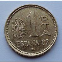 Испания 1 песета. 1980. 80