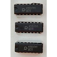 Микросхема К561ЛН1