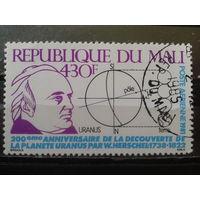 Мали 1981 Астроном Михель-1,1 евро гаш