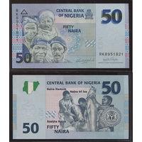 Распродажа коллекции. Нигерия. 50 найра 2007 года (P-35b.2 - 2005-2020 Issue)