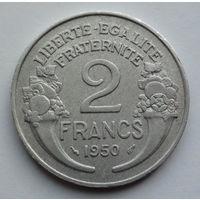 Франция 2 франка. 1950