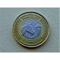 """Французский Судан 1 франк 2014 """"100 лет Первой Мировой"""""""