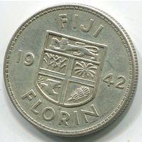 ФИДЖИ - ФЛОРИН 1942 S