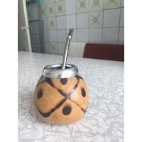 Калабас и бомбилья для чай мате
