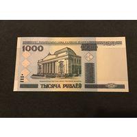 1000 рублей Беларусь 2000 год серия ТА (UNC)