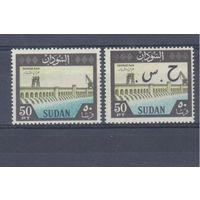 [747] Судан 1962.Плотины,дамбы.